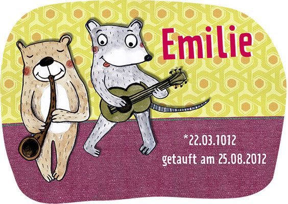 Kinderzimmerbilder - Meike Töpperwien Illustration und Grafikdesign
