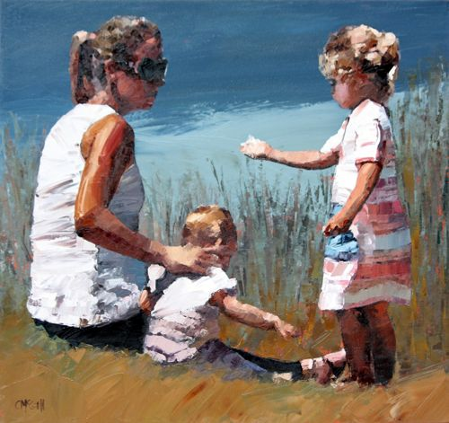 Beachside VII by Claire McCall
