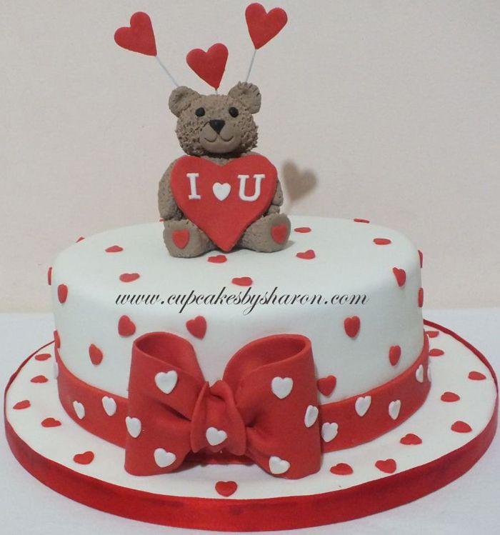 Valentine Cake I | Cupcakes By Sharon