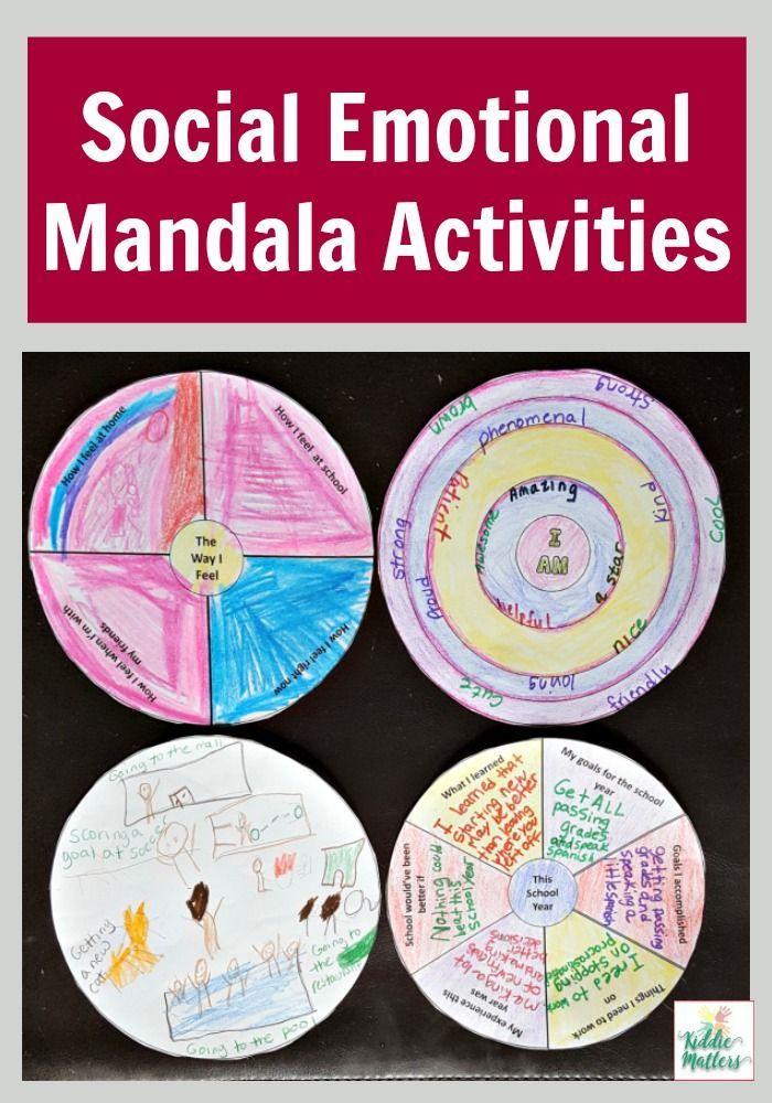 Mandala Social Emotional Learning Activities Social Emotional Learning Activities Social Emotional Social Emotional Learning