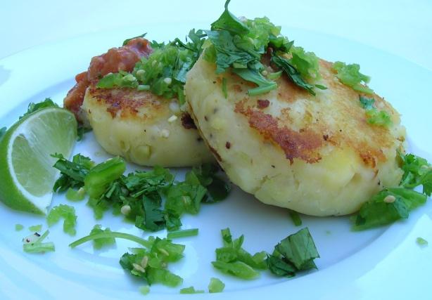 stuffed potato patties | Love it | Pinterest | Potato Patties, Stuffed ...