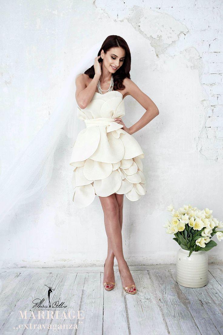 Marie Ollie Blossom White Dress