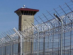 prison barb wire fence - Google Search