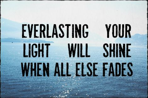 """""""From The Inside Out"""" - Hillsong United: God, Quotes, Faith, Jesus, Light, Everlasting"""