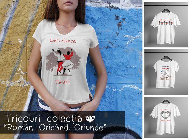 Cumpără ACUM noile tricouri, bărbătești și de fete, Vatra cu traditii! Cool ✅ Tradițional ✅ Românesc ✅ Livrare RAPIDĂ oriunde în țară! http://www.vatracutraditii.ro/tricouri-1061/