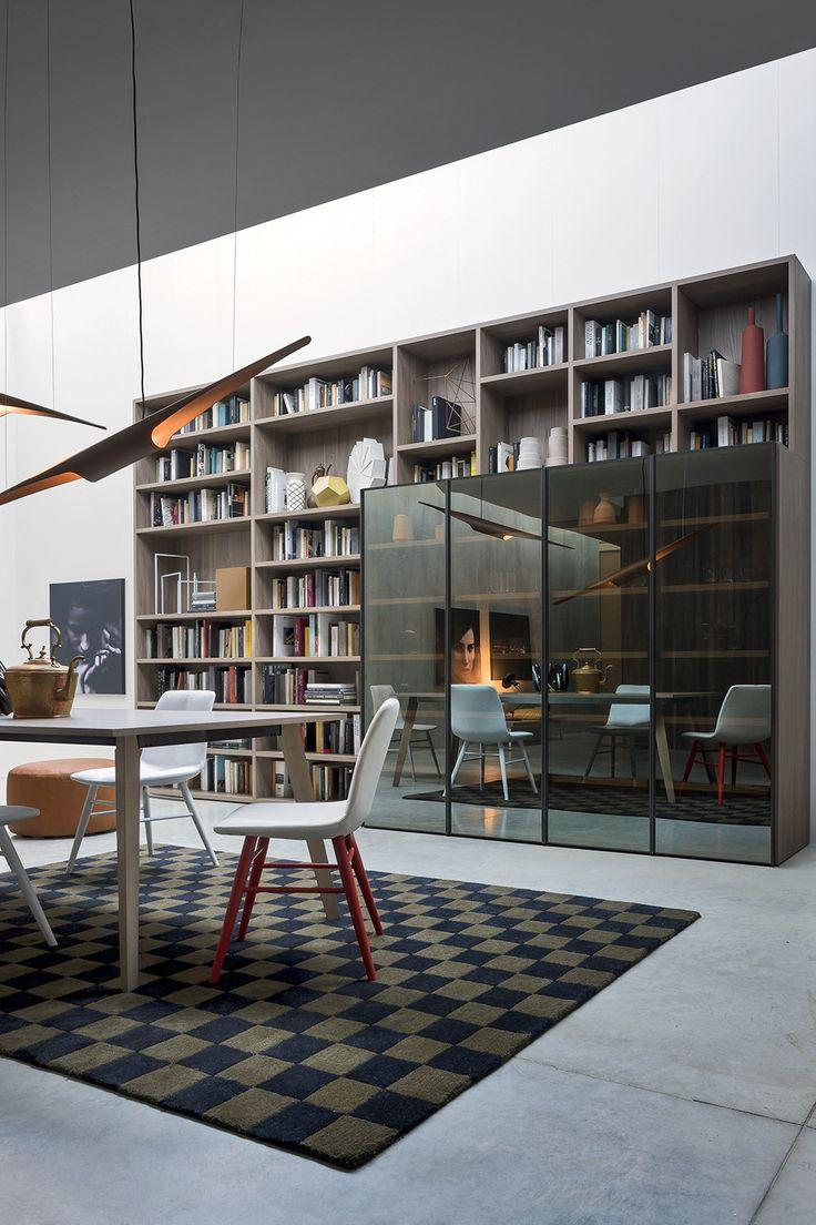 85 best novamobili images on pinterest | cologne, bookshelves and ... - Libreria Novamobili Soggiorno 2
