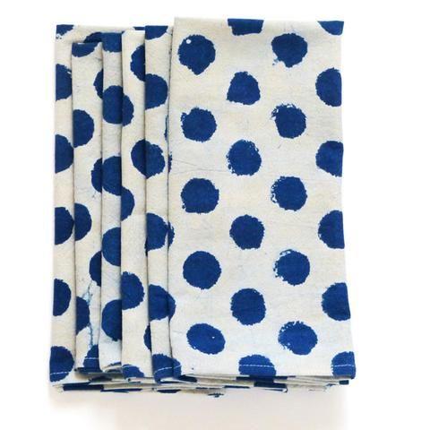 Divinely Dotty napkins