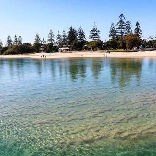 Tallebudgera Creek, Gopd Coast ... Crystal clear water that goes on forever   #VisitGoldCoast #ThisIsQueensland #SeeAustralia