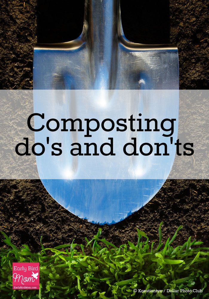 A quick guide with composting dos and donts for your home garden. Download a free printable list so you'll have an idea of what to compost. Also get recommendations for supplies.