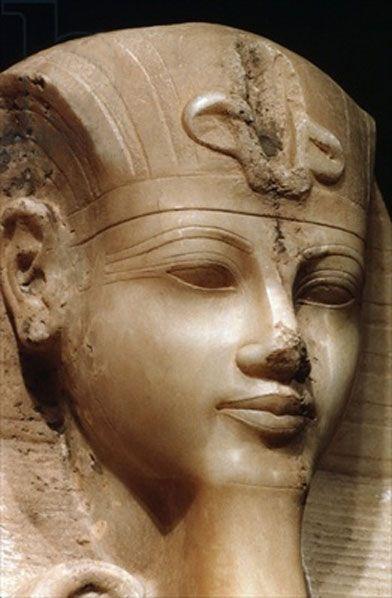 Amenhotep III. Husband of Queen Tiye and father of Pharaoh Akhenaton.