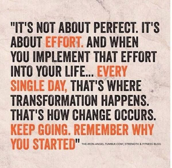 This is true in working out and in life period. Celebrate results and accomplishments in all areas! #rebuildingmylife