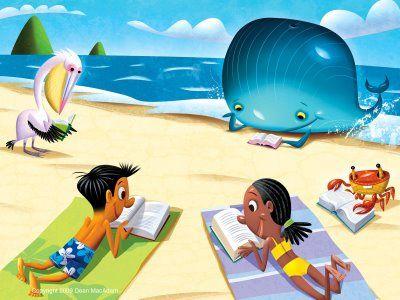 Tiempo de las vacaciones. ¡Se acabaron las clases y los libros! Pero ¿no debería…