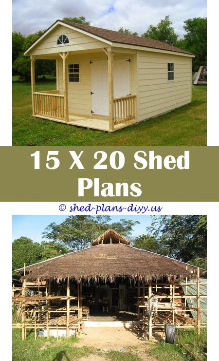 12x16 Two Story Shed Plans 10x13 shed plansBuild Your Own Bike Shed