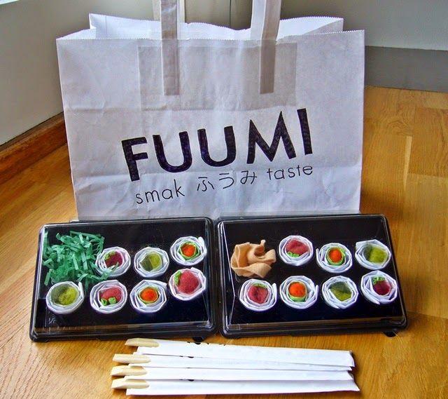 Sushi eller.... Velbekomme! - Hos Dorte