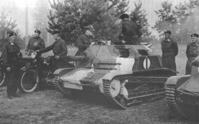 TK / TKS tankettes - foreign service