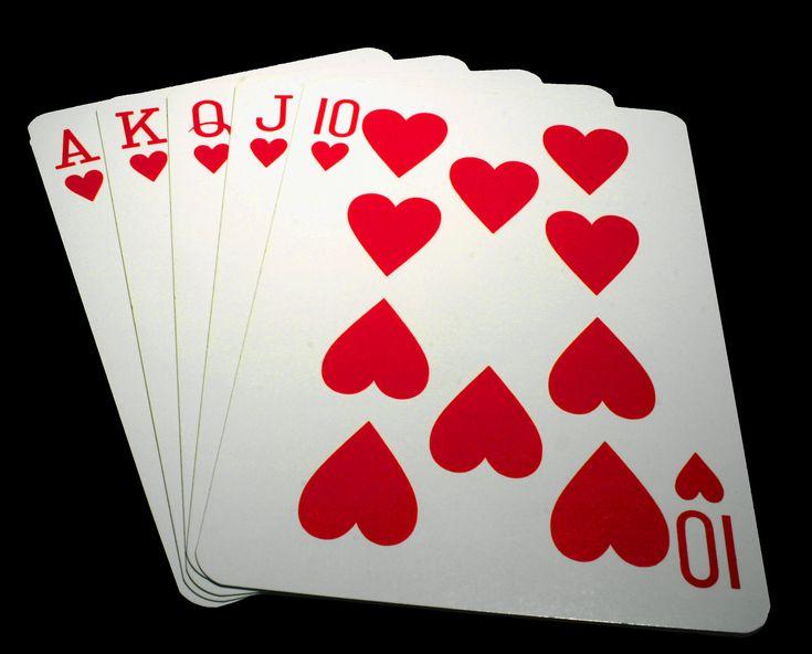 Cartas de poker.