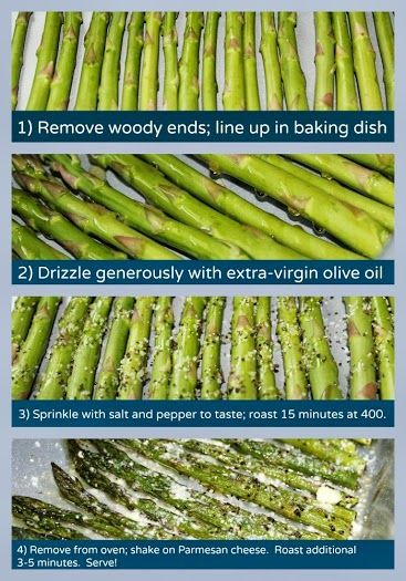 Parmesan Roasted Asparagus - I have a similar post already, but I'm not sure if this one is different...so, repin!