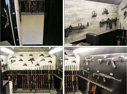 Customized Walk In Gun Safe Security Defence Bug Out