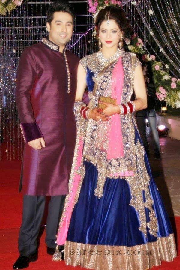 Dec 27-28, 13: TV Actor Aamna Sharif weds Producer Amit Kapoor
