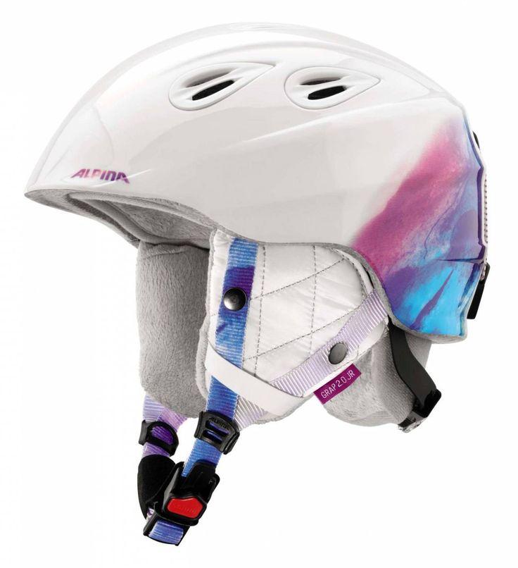 Sportolino Angebote Alpina Grap 2.0 Junior Kinderskihelm (Größe: 54-57 cm, 14 white/periwinkle): Category:…%#sport%