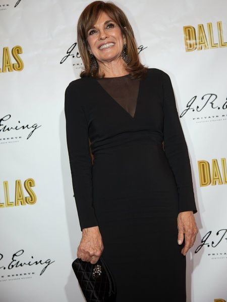 LINDA GRAY DALLAS TNT 2014 | Linda Gray, JR Ewing Bourbon Launch Party