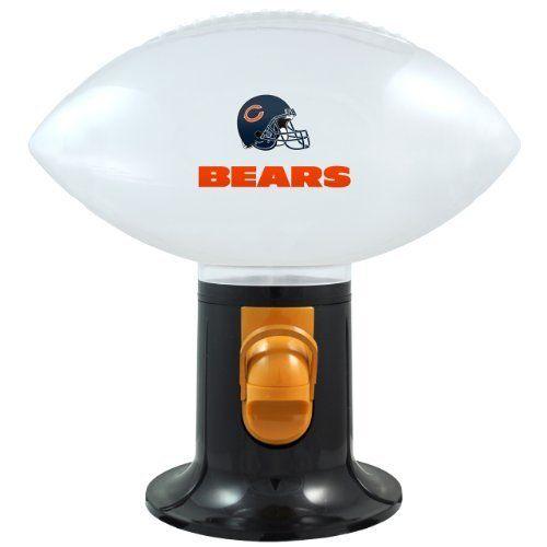 NFL Chicago Bears Football Snack Dispenser by Topperscot. Save 4 Off!. $16.29. NFL Chicago Bears Football Snack Dispenser