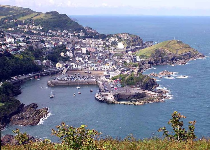Ilfracombe, North Devon UK-Rock pools, beautiful harbor with quaint shops and fantastic eateries.