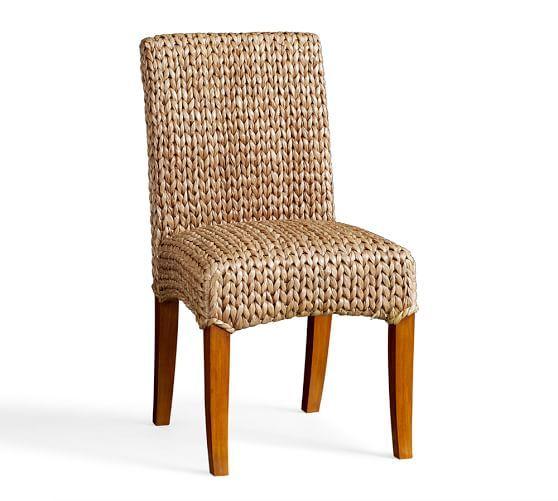 Seagrass Side Chair, Havana Dark