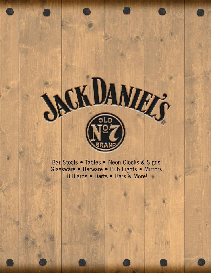 Officially licensed Jack Daniel's® home decor and entertainment products.