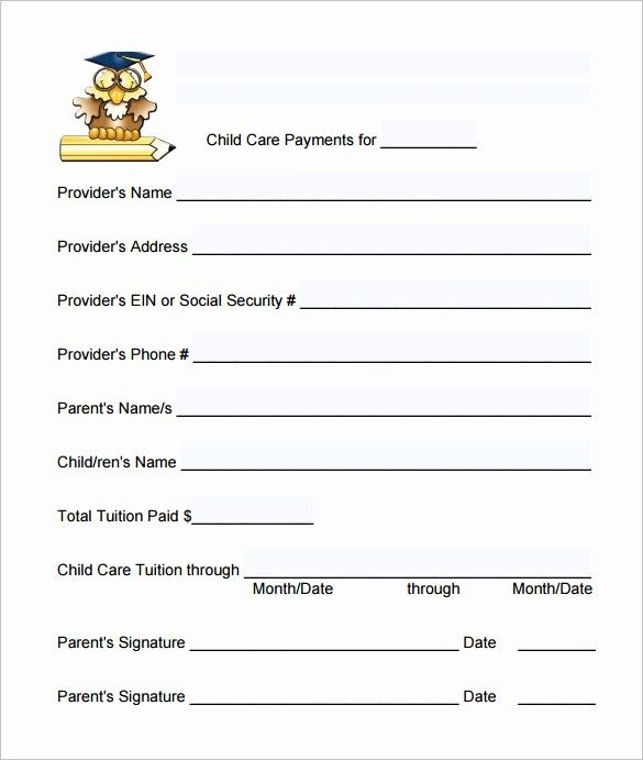 Inspirational 19 Daycare Receipt Templates Doc Pdf Receipt Template Financial Plan Template Free Receipt Template