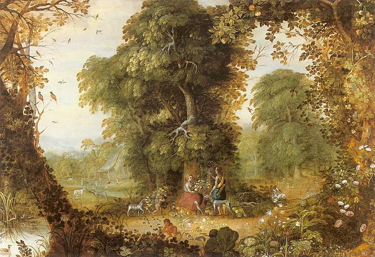 Alexander Keirincx (1600–1652)   Allegory of Abundancet 17th century