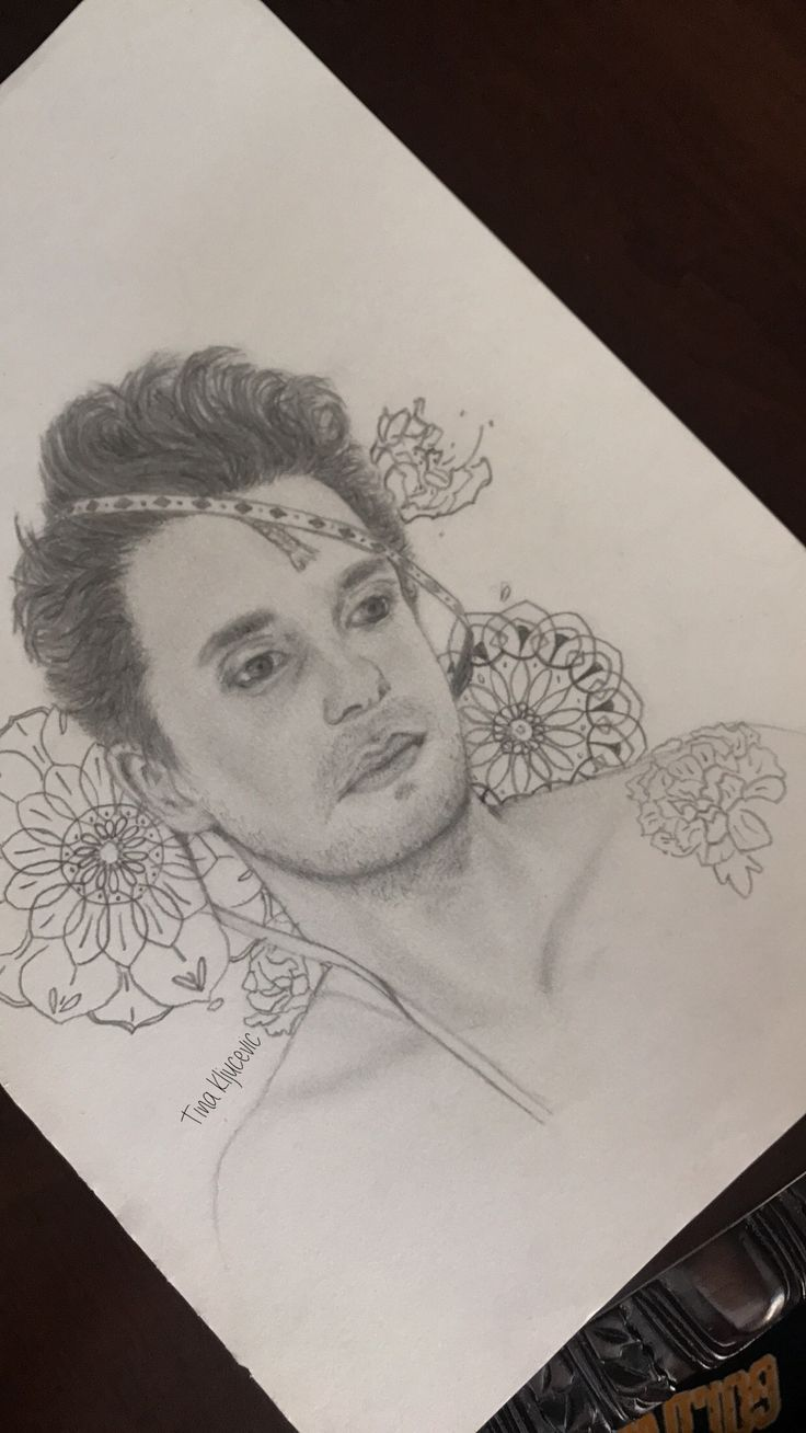 Attempted to draw John Mayer's new album cover. The search for everything: wave two  By Tina Kljucevic