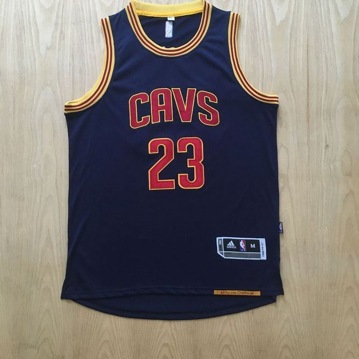 Cleveland Cavaliers NBA Mens #23 Lebro James Authentic Stitched Blue Jersey