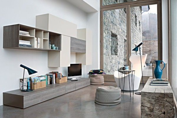 17 best ideas about modern wall units on pinterest for Santarossa components