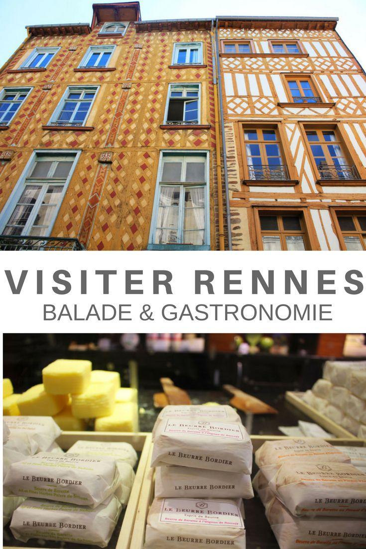 Une balade gourmande à Rennes à la découverte des produits locaux. Bretagne - France
