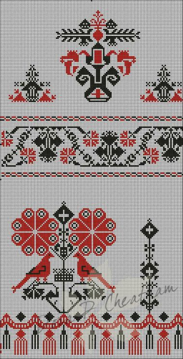 Gallery.ru / Фото #39 - Rushniki - Geometric & Traditional Motifs - Dora2012