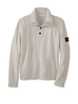 53% OFF Stone Island Kid's Polo Sweater (Grey)
