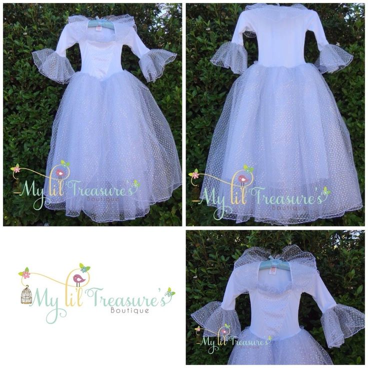 This fabulous dress is inspired by the Fairy Godmother in the new Cinderella movie