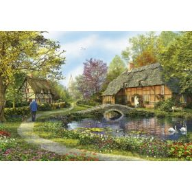 Educa 16356 Jigsaw Puzzle 5000 Piece Meadow Cottages