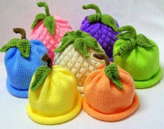 Фруктовые шапочки