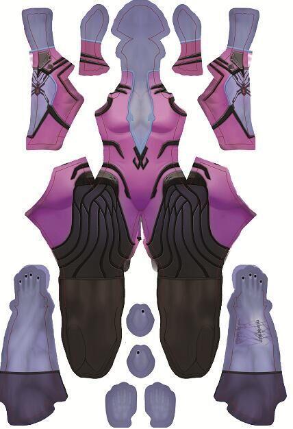 2016 high quality Newest Fanart Widowmaker Costume Halloween Cosplay Zentai Catsuit Custom Lycra Spandex Digital Print Bodysuit