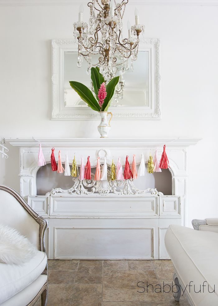1064 best interior design style images on pinterest country style how to decorate a creative valentines day mantel 20 ways pretty pastelvalentines daydiy ideashome solutioingenieria Images