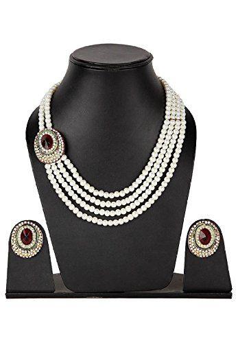 Bollywood Fantastic Most Stylish white Peals Red White cz... https://www.amazon.com/dp/B01N1EJK6Z/ref=cm_sw_r_pi_dp_x_zteMybCY4HVPK