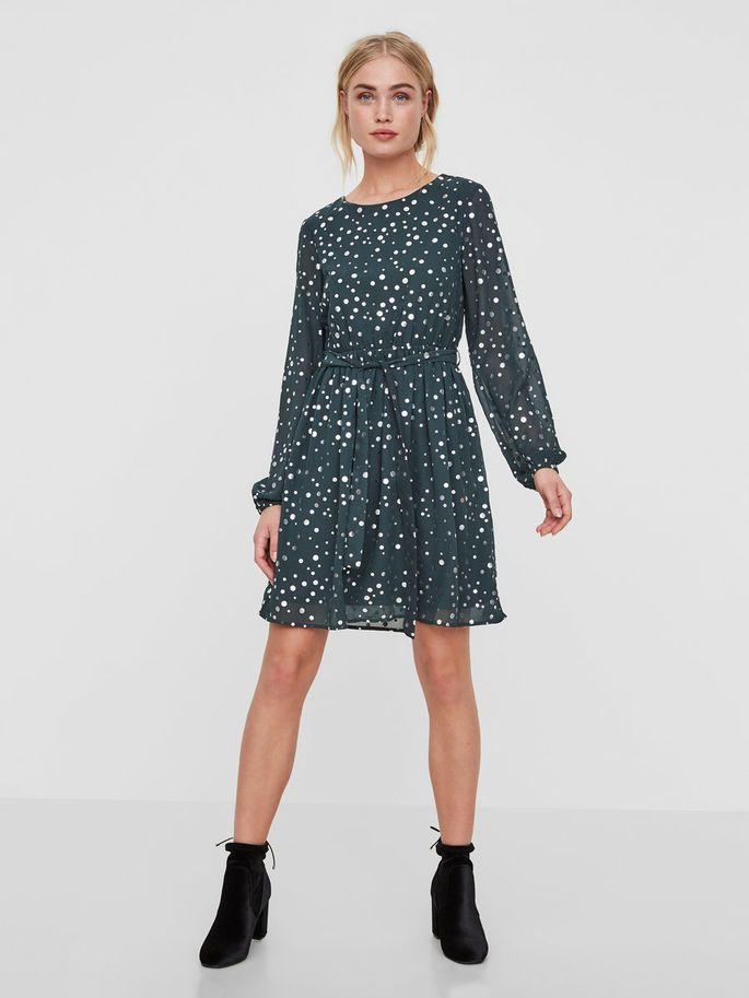Prickig klänning vero moda