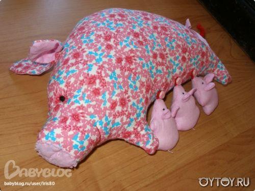 Padrões de leitões. Padrões de suínos. Padrões de suínos. Fazenda brinquedo. Como costurar um porco