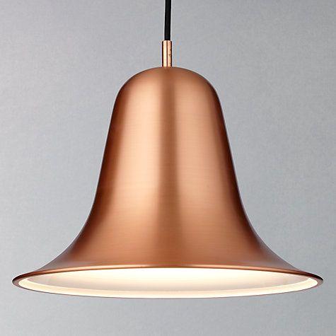 Buy Verpan Pantop Pendant, Copper Online at johnlewis.com