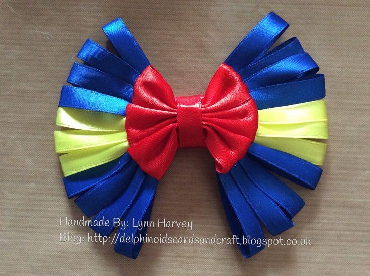 8 handmade hair bows lynn