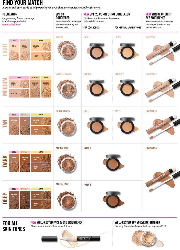 Mineral Concealer and Under-Eye Brightener | bareMinerals .......I'm Golden Tan