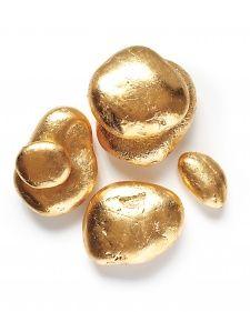 Gold Tabletop Stones DIY
