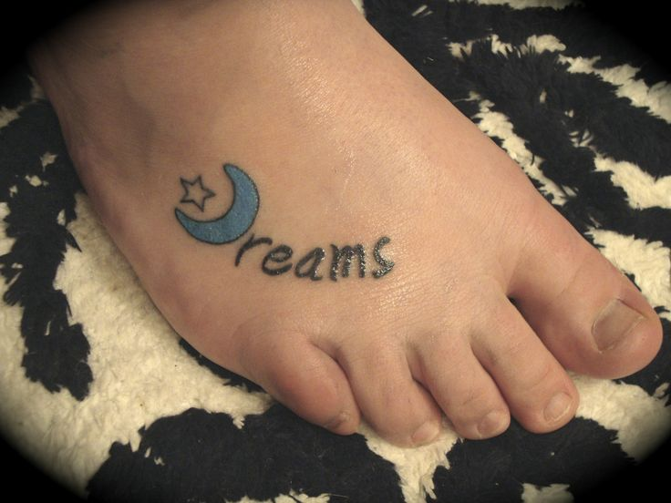 My tattoo of my favorite fleetwood mac song dreams for Mac tattoo my heart